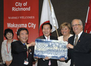 35th anniversary of Richmond with Wakayama