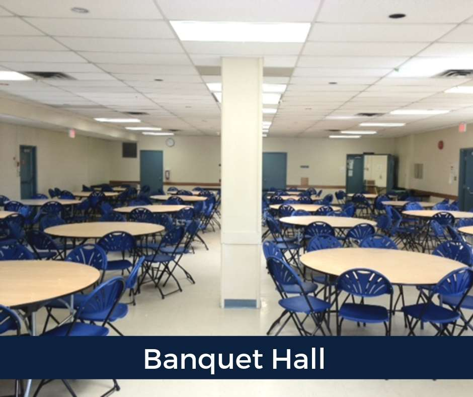 Banquet Hall  For large parties and special events