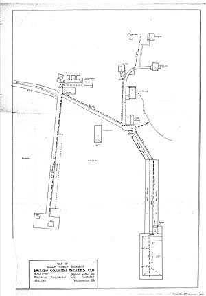 Bella Coola Cannery - Thumbnail Map