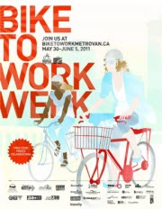 Bike to Work Week 2011 Poster