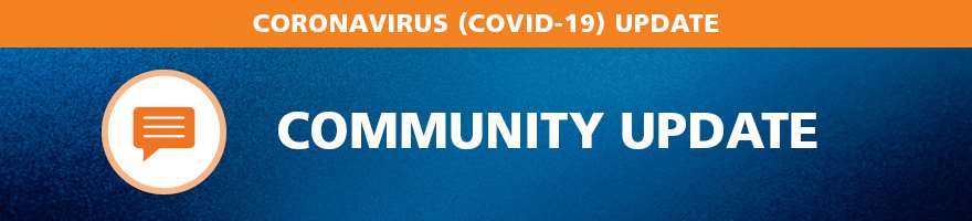COVID Community Update Banner
