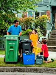 Family Garbage & Recycling