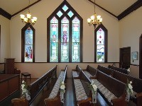 Minoru Chapel Interior