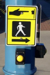 Photo of Pedestrian Push Button