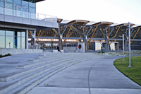 Richmond Olympic Oval Riverside Plaza
