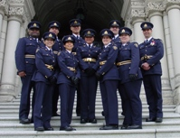 Auxiliary Constables in Blue Serge
