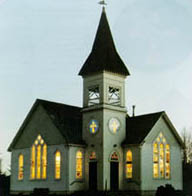 Minoru Chapel in the Evening