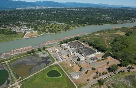 Iona Island Wastewater Treatment Plant Project