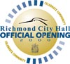 Richmond City Hall Official Opening 2000 Logo