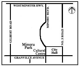 City Hall Location Map