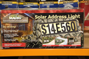 Solar Address Numbers